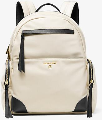 MICHAEL Michael Kors MK Prescott Large Nylon Gabardine Backpack - Black - Michael Kors