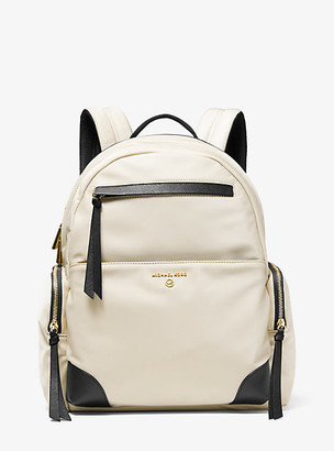 Michael Kors Prescott Large Nylon Gabardine Backpack
