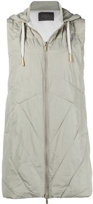 Lorena Antoniazzi Padded Hooded Gilet