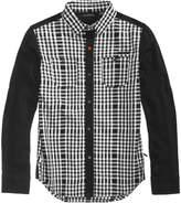 Sean John Windows Plaid Shirt, Big Boys (8-20)
