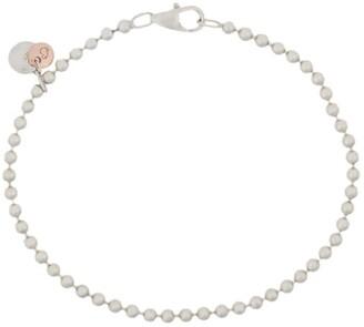 Dodo 9kt rose gold and silver Bollicine bracelet