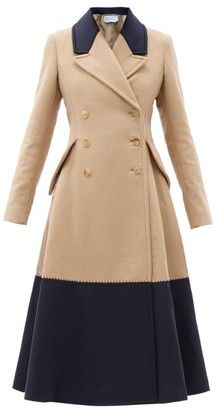 Gabriela Hearst Cantwell Double-breasted Cashmere Coat - Beige Multi