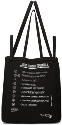 MM6 MAISON MARGIELA Black Shopping Tote