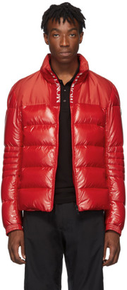 Moncler Red Down Bruel Jacket