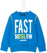 Diesel Sipok sweatshirt - kids - Cotton - 2 yrs
