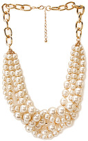 Forever 21 Signature Pearlescent Necklace