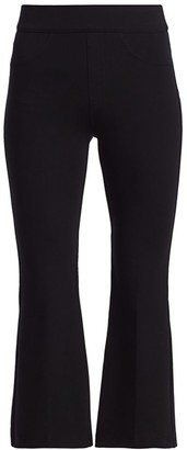 Spanx Ponte Cropped Flared Pants