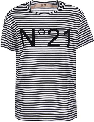 N°21 N.21 Striped T-shirt