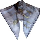 Gucci Ecru Silk Scarf