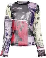 McQ printed top