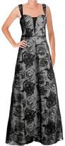 Aidan Mattox Floral Semi-Sweetheart Dress 54467470