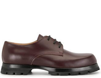 Jil Sander chunky sole Derby shoes