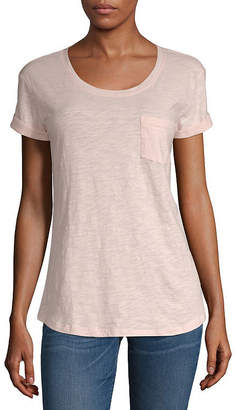 A.N.A Tall Womens Short Sleeve Pocket T-Shirt