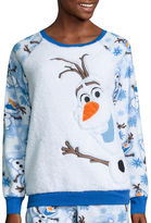 Disney Olaf Fleece Pant Pajama Set-Juniors