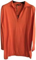 Loro Piana Orange Silk Knitwear for Women