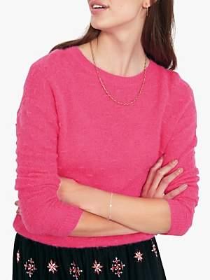 Hush Bobble Knit Jumper, Pink