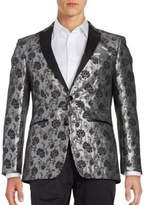 Calvin Klein Contrast Floral Sportcoat