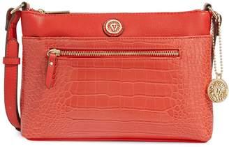 Anne Klein Vanity 2 Top-Zip Crossbody Bag