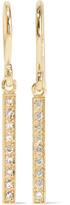 Jennifer Meyer 18-karat Gold Diamond Earrings - one size