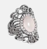 Avenue Blush Scroll Stretch Ring