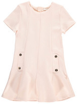 Chloé Engraved Button Milano Dress