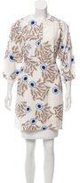 Diane von Furstenberg Silk Sash-Tie Tunic
