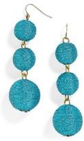 BaubleBar Women's Shimmer Crispin Drop Earrings