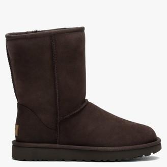 UGG Classic Short II Chocolate Twinface Boot