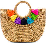 JADEtribe Basket Small 7 Tassel