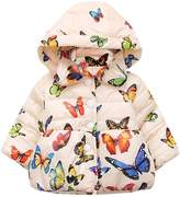 Perman Baby Girls Hoodies Puffer Jacket