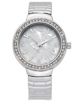 Charter Club Women's Silver-Tone Bracelet Watch 32mm, Created for Macy's