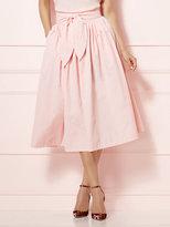 New York & Co. Eva Mendes Collection - Mari Tie-Waist Midi Skirt