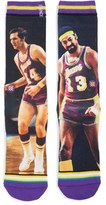 Stance Men's Nba Legends Wilt Chamberlain & Jerry West Socks