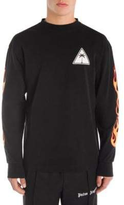 Palm Angels Palms& Flames Sweatshirt
