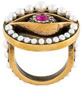 Alexander McQueen eye ring