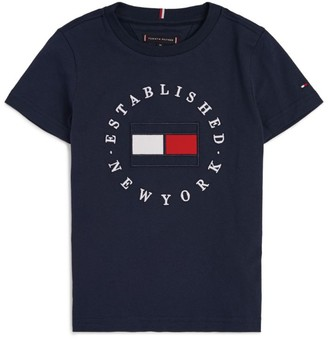 Tommy Hilfiger Junior Established In New York T-Shirt (4-16 Years)