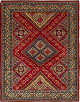 "Ecarpetgallery ECG1-269454 Hand-knotted Finest Gazni 5'2"" x 6'6"" 100% Wool Borde area rug"