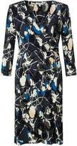Jigsaw Floral Thistle Wrap Jersey Drs