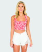 Toby Heart Ginger Loco Denim Shorts