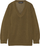 Vanessa Seward Open-knit cotton sweater