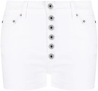 Dondup High-Waisted Denim Shorts