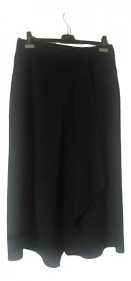 Narciso Rodriguez Black Wool Skirt for Women