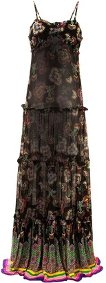 Alexis Lussa tiered long dress