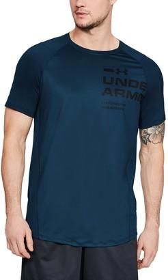 Under Armour Men's UA MK-1 Logo Graphic Short Sleeve