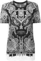 Alexander McQueen engineered paisley T-shirt