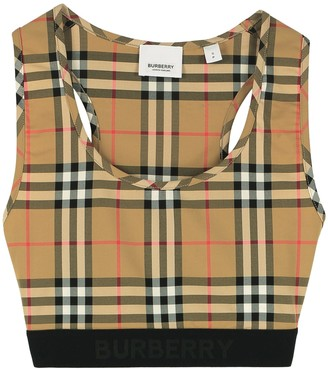 Burberry Technical Fabric Crop Top