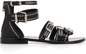 Zadig & Voltaire Studded Strappy Sandals