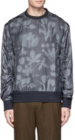 Wooyoungmi Floral print silk blend sweatshirt