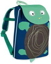 Lassig Mini Duffle Turtle Backpack in Wildlife Blue