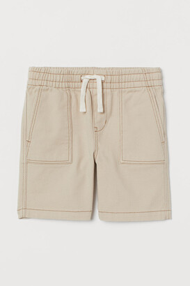 H&M Cotton Shorts - Beige